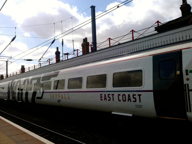 Skyfall train