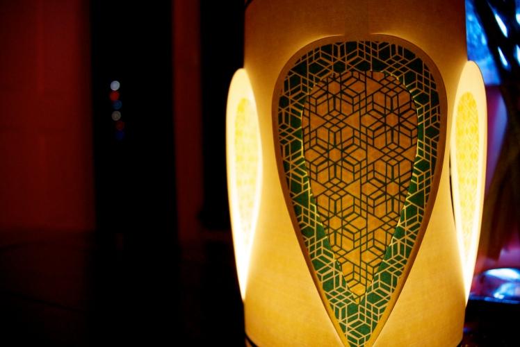 Lantern in the evening
