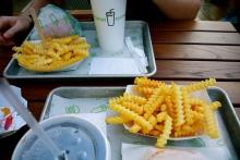 Shake shack fries
