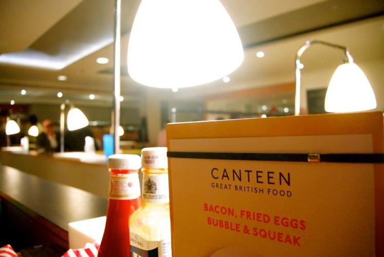 Canteen menu