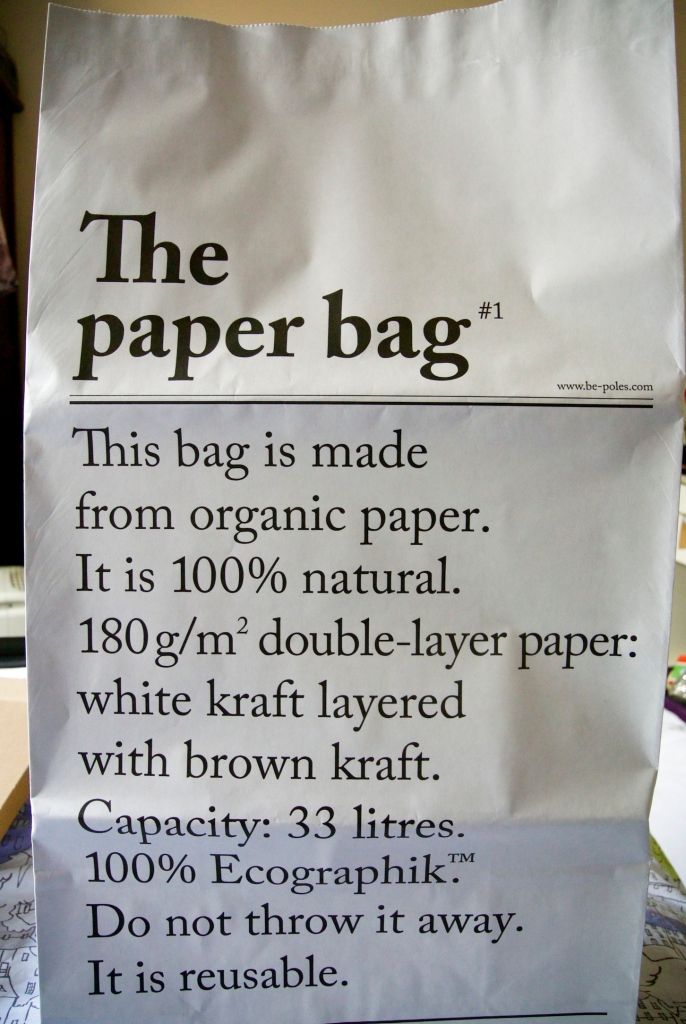 GG Paper bag