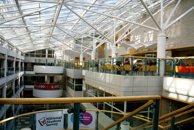 Sheffield Hallum atrium