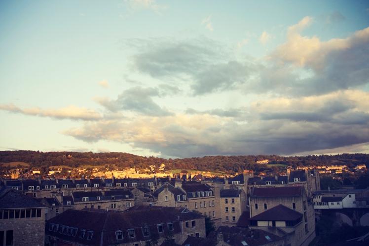 Bath hotel view