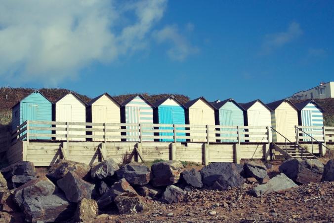Summerleaze huts