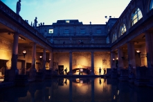 Roman Baths Twilight