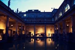 Roman Baths Twilight