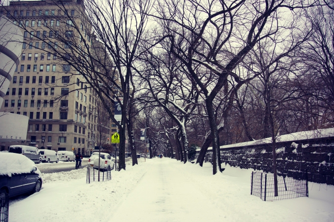 5th Avenue in the Snow