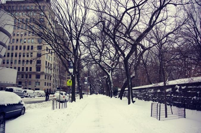 5th Avenue in the Snow