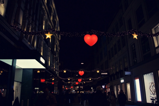 Strøget at Christmas