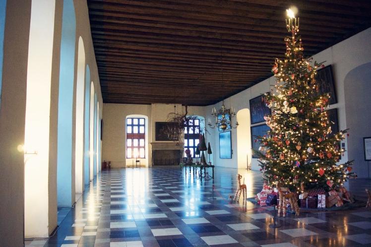 Kronborg Castle at Christmas