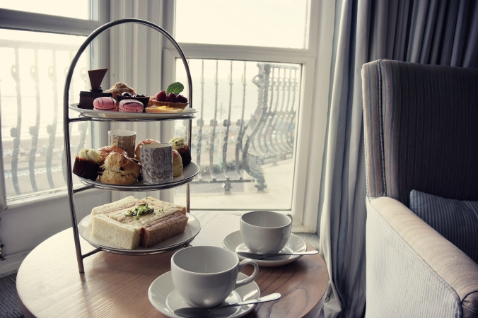 Afternoon Tea at The Grand, Brighton