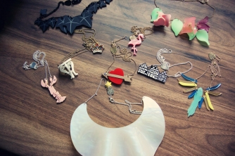 Tatty Devine Sample Sale Haul