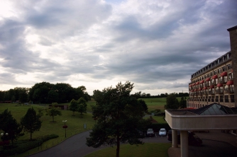 Celtic Manor Signature room view