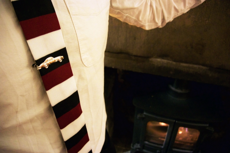 Harrison Blake Apparel tie and pin